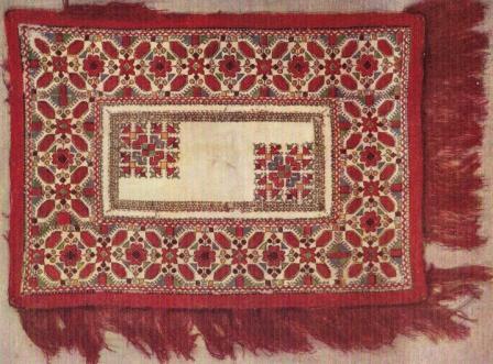 техники чувашской вышивки